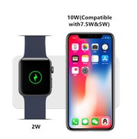 10W Qi Wireless Charger for iwatch 4 3 QI Fast Charging For ...