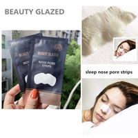 Beauty Glazed Blackhead Remover Tiefe Nase Poren Reinigungsstreifen Nase Aufkleber Schwein Nasenmaske Pflanze Streifen tief sauber