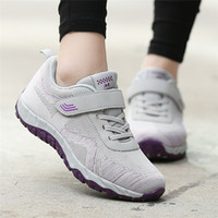Women Leisure Mesh Breathable Non- Slip Elderly Sport Shoes F...