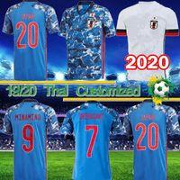 2020 2021 Japan Soccer maglie ATOM TSUBASA HONDA KAGAWA MINAMIHO Haraguchi YAMAGUCHI Osako 20 21 uomini di calcio donne e bambini camicie 4XL