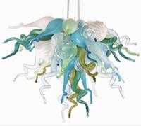 Lambalar Enerji Tasarrufu Işık Kaynağı Ve Çağdaş Tip Küçük Kapalı Kolye Aydınlatma Sanat Dekoratif El Üflemeli Cam Kristal Avize