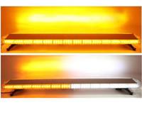 Envío libre 1600mm / 62 pulgadas de alto brillante techo de montaje flash del coche estroboscópico barra de luces ámbar camión de remolque barra de luces barra estroboscópica resistente barra de luces