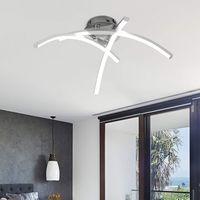 Soffitto moderna LED 21W 3000K di luce di notte Forked soffitto a forma di lampada per il salone della camera da letto lampada moderna curvo disegno