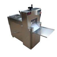 Vente chaude 220V 110V CNC double coupe agneau rouleau rouleau machine électrique boeuf coupe rapide usine vente directe