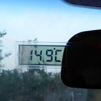Mini Station météo Thermomètre numérique Automobile Température voiture Instruments Type de mur d'afficheur LCD