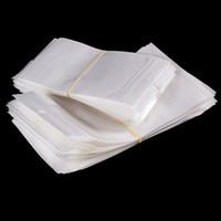 Claro + branco pérola plástico Poly OPP embalagem com zíper Zip bloqueio Retail Pacotes Jóias comida PVC saco plástico muitos tamanho para escolher