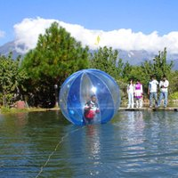 شحن مجاني أفضل سعر الاطفال العملاق inflatale المياه المشي الكرة فقاعة الماء الكرة المياه المتداول الكرة مع جودة عالية ل 0.8 ملليمتر pvc 2.5 متر