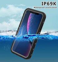 RedPepper 방수 케이스 Shockproof Dirt-Resistant 다이빙 수중 케이스 아이폰 11 프로 엑스에 대 한 커버 소매 상자가있는 최대 XR