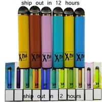 Dispositivo di pod monouso XTIA 5ml XTRA VAPE PEN Penna Cartucce VAPE Imballaggio Vuoto su misura Custom Made 1500 Sfuppe Sigarette elettroniche