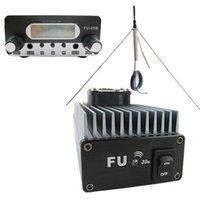Freeshipping Beruf FU-30A 30W FM-Leistungsverstärker-Set für FM Transmitter Broadcast-+ FU-05B 0.5W FM Exciter + 1/4-Wellen GP100 Antenne