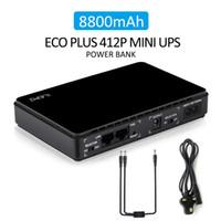 전문 공급 아마노 ZON POE (430 개) 미니 UPS 무정전 전원 시스템의 경우 라우터와 POE 기능 8800mAH 리튬 배터리 내장