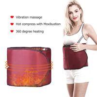 360 Degree Far Infrared elétrica Dispositivo Aquecimento Slimming Detox cinto Beleza aptidão Suspensórios Suporta Slimming Belt