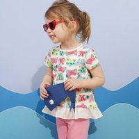 19 European and American style brand children' s clothin...