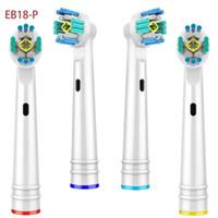 Braun Oral электрическая зубная щетка Глава Продажа Уход за полостью рта высокого качества Зубные щетки Головки сменные совместимые 4шт / пакет EB17-P