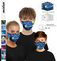 DHL FAST SHIP Designer Face Mask Luxury Mask Washable Dustproof Riding Cycling Sports Floral Print Fashion Masks for Men and Women FY9119