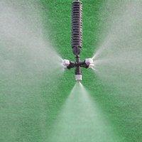 Sulama Ekipmanları Dişli Mist Meme Misting Sprey Yağmurlama Bahçe Suyu Soğutma Bahçe Çimenleri İçin Ayarlanabilir Sulama