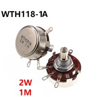 WTH118 2W 1M однооборотный углеродная пленка потенциометра