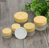Frosted Glass Jars Cream Container Round Cosmetic Jars Hand ...