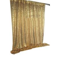 120 * 180 cm Shimmer Sequin Ristorante Ristorante Tenda Matrimonio Photobooth Backdrop Party Photography Background Compleanno festa Forniture 3Colors