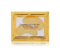 20pcs nouveau collagène cristal masques pour les yeux anti-poches hydratant masques pour les yeux masques anti-âge masque de poudre de collagène or