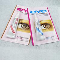 DHL Livraison 7g Eye Lash Colle Noir Blanc Maquillage Eye Lash Adhésif Étanche Faux Cils Adhésifs Colle Blanc Et Noir Disponible 1200Pcs