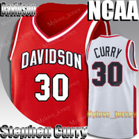 NCAA Davidson College Stephen Curry 30 Jersey Kawhi Trikots Leonard Russell 0 Westbrook Kevin Durant 35 Trikots College Basketball Jersey