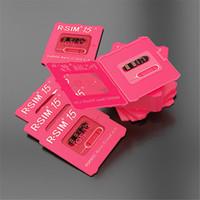 RSIM15 Entsperren Karte RSIM15 Aufschließen iOS13 RSIM 15 Dual-CPU-Upgrade ios13 Aufschließen SIM-Karte für iPhone 11Pro 8Plus 7 6 XS Max XR