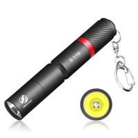 LED مصباح يدوي مع XPE قسط الخرز مصباح IP67 للماء القلم ضوء ضوء المحمولة لحالات الطوارئ، والتخييم، في الهواء الطلق
