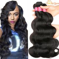 30inch mink brésilien cheveux vierge cheveux vague de corps 4 paquets non transformés brésiliens vague de corps extensions de cheveux humains peruvian malaisien indien péruvien