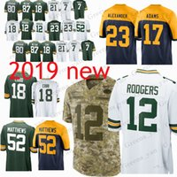 1ce668f9904 Wholesale rodgers football jersey for sale - 12 Aaron Rodgers Green Bays  Packer jerseys Jaire Alexander