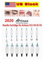 US Stock!!! Artmex V3 V6 V8 V9 V11 Replacement Microneedle Cartridges PMU MTS System Tattoo Needle Cartridges Permanent Makeup Dermapen