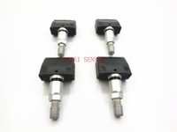 DPQPOKHYY 4PCS For Buick rong royal tire pressure monitoring tire pressure sensor 13172567