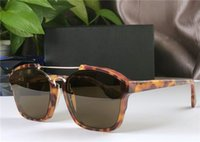 2020 Nouvelle mode sunglasse abstraite cadre carré avant-gardiste de style d'été de qualité supérieure lunettes de protection UV400 populaire