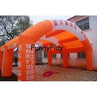 Inflável portátil Tent Única Camada Tenda Publicidade Arch Booth Para o exterior Exposição Arco inflável Lawn