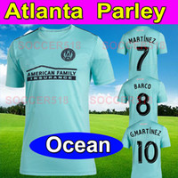 Футбольные майки Atlanta United Parley, 2019 г. Для океанов ALMIRÓN atlanta United x MLS x Футбольная майка Parley Blue Spirit из футболки G. MARTÍNEZ