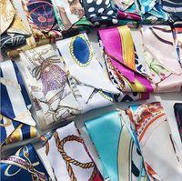 Taschenschals Wraps Großhandel Schulter Tragetaschen Griff Famal-Schalldämpfer UK JP Brieftasche Geldbörse Seidenimitation Handtasche DIY USA Gepäck