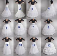 Wedding sottoveste Crinoline slittamento del Underskirt nuziale Dress Hoop Vintage Slips