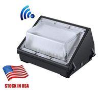 재고 미국 UL DLC는 옥외 LED 벽 팩 조명기구 100W 빛 데이라이트 5000K AC90-277V CRI75 IP65 DLC의 ETL은 상장 승인