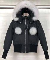 Moda Lana rica Clásica Marca Hombres Arctic Anorak Down chaquetas Hombre Invierno blanco ganso abajo 90% Parka gruesa al aire libre Abrigo cálido para hombre