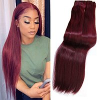 Double Drawn Funmi Hair Straight Colored Human Hair Extensio...