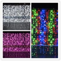 3mx3m LED Curtain Lampade Luci Wedding String Web della stella della luce leggiadramente 300 lampadine di Natale di natale di compleanno giardino della casa della decorazione del partito DHL LY228