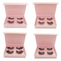 SHIDISHANGPIN 2 Pair Set Mink Eyelashes Makeup Tools Natural...