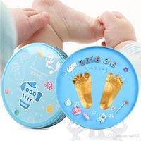 Volle Maan Baby's Geschenken Douche Gunsten Brothers Inktpad Ronde Boxed Seal Keepsake Baby Pasgeboren Honderd Dagen Verjaardag Party Gift 22DWE1