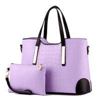 HBP 2 pz / set Donne borse composite da donna di alta qualità Borse da donna femminile PU in pelle Borsa in pelle Borsa Borsa Bolsa