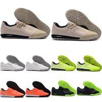 2020 Top hommes de qualité des chaussures de football Phantom VNM Pro IC TF chuteiras intérieur de chaussures de football crampons de football pas cher Tacos de futbol vert