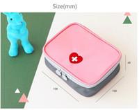 الإسعافات الأولية حقيبة السفر المحمولة الطب حزمة طقم orgnizers صغيرة الطوارئ حقائب الطب التخزين المنظم حقيبة صغيرة