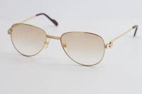 Продажа модных металлических солнцезащитных очков классические пилоты металлические рамки простой досуг вырезать высочайшее качество дизайн солнцезащитные очки мужчины и женщины