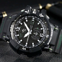 2018 men watch  W1100 Watch 52mm original Digital Movement men YG factory sports Wristwatches Waterproof