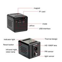 1080P 720P faible puissance Mini caméra batterie sans fil Wifi P2P IP Caméra PIR intelligente vision nocturne vidéo caméscope Accueil Sécurité sans fil CCTV Cam
