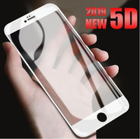 Glass for iPhone x Screen Protector 6 6s 7 Plus 8 Plus 5D Cu...